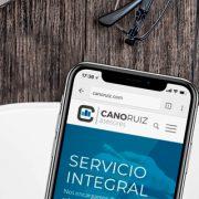 Cano Ruiz estrena página web